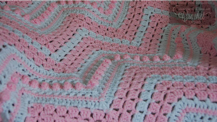 Crochet Gigi's Popcorn Blanket | The Crochet Crowd
