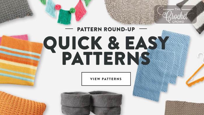 44 Quick Crochet Patterns
