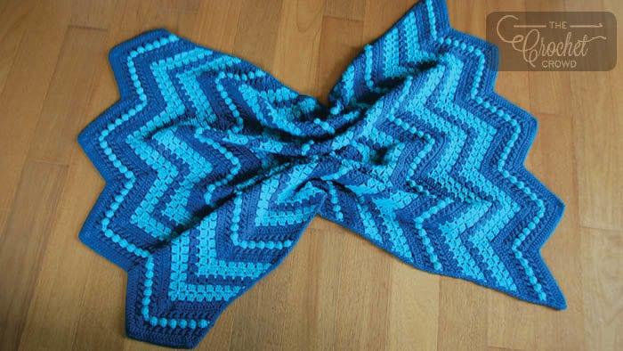 The Gigi Blanket by Jeanne Steinhilber