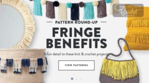 18 Fringe Benefits for Knitters and Crocheters