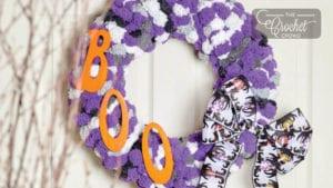 Craft Boo Wreath