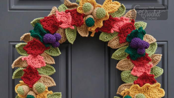 Crochet Fall Fabulous Wreath