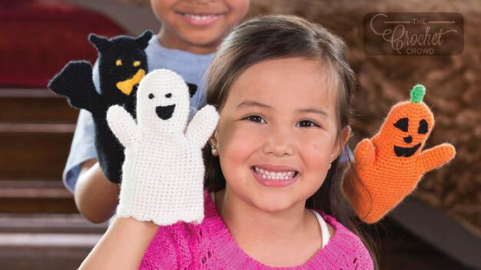 Crochet Halloween Puppets Pattern