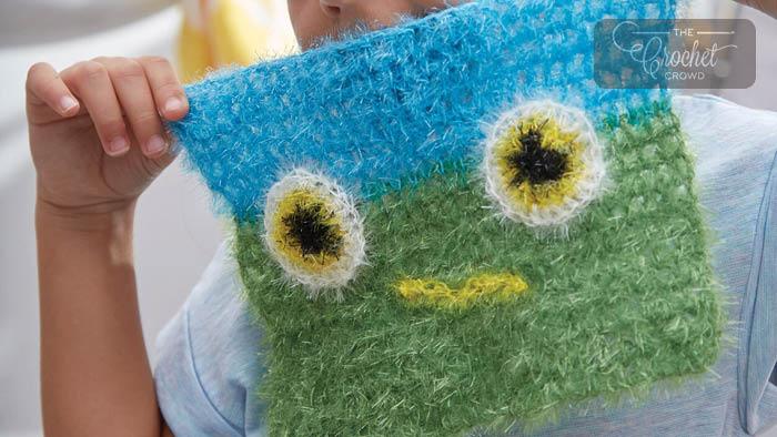 Crochet Monster Dishcloth