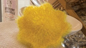 Crochet Posey Dishcloth
