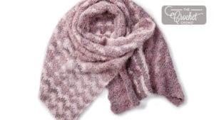 Crochet Star Stitch Shawl