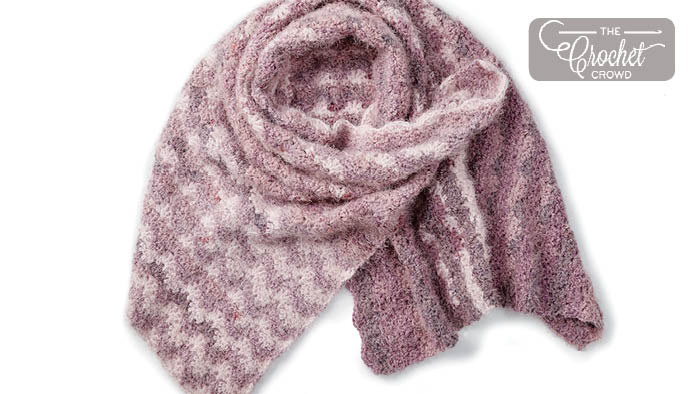 Crochet Star Stitch Shawl Pattern