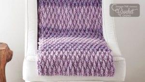 Crochet Stitch Life Texture Blanket