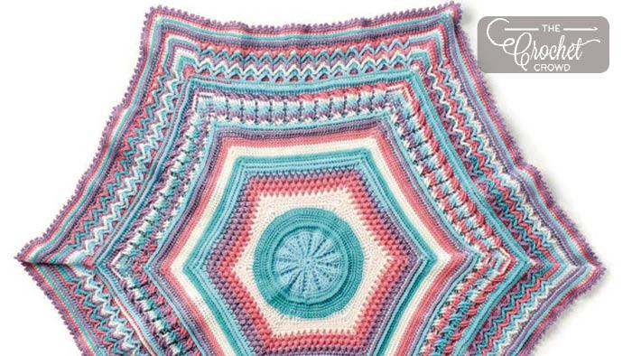 Crochet Along Study Of Planet Earth Afghan