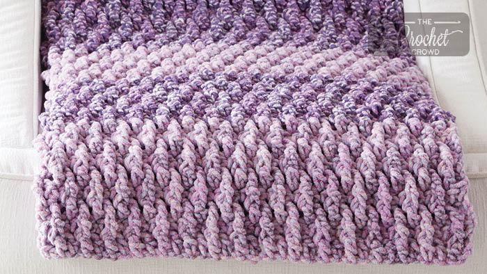 Crochet Texture Life Blanket
