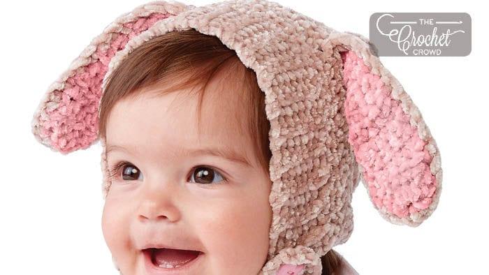 Crochet Velveteen Rabbit Hat
