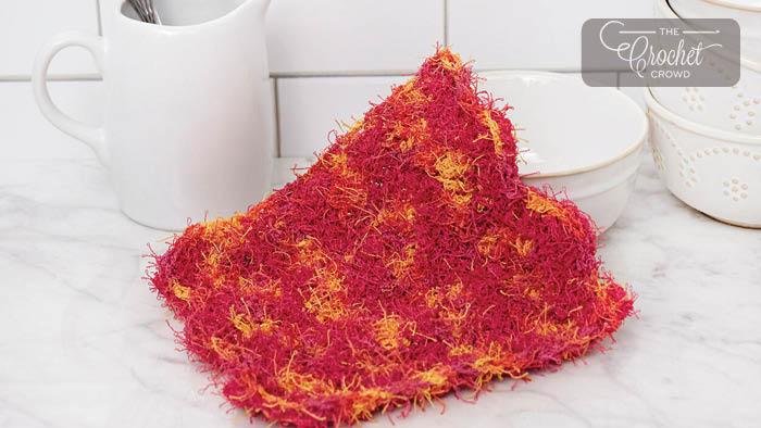 Crochet ZigZag Dishcloth Pattern