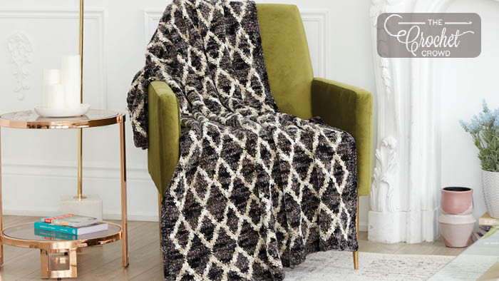 Crochet Filigree Crochet Blanket Pattern