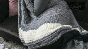 161276-76032 Bernat Blanket Stripes Yarn-Gray Matters