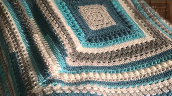 Crochet Gigis Block Party Blanket by Jeanne Steinhilber
