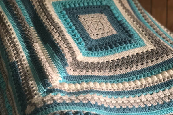 Crochet Gigis Block Party Blanket by Jeanne Steinhilber