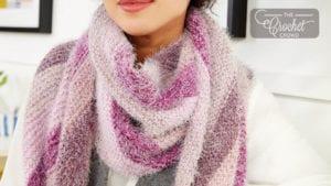 Knit Bias Wrap
