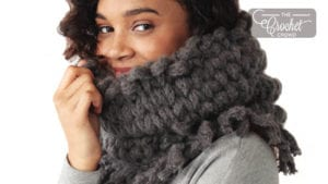 Knit In The Round Cowl
