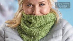 Knit Keep Warm Cowl