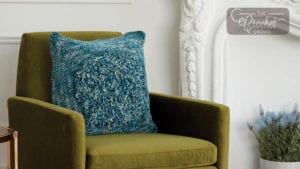 Loopy Centre Crochet Pillow