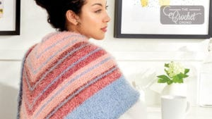 Knit Misty Shawl