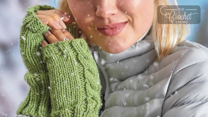 Knit Warming Wristers