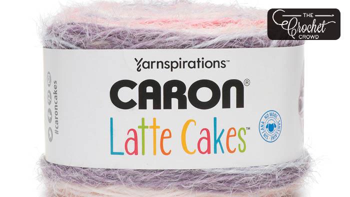 25 Knit & Crochet Patterns for Caron Latte Cakes