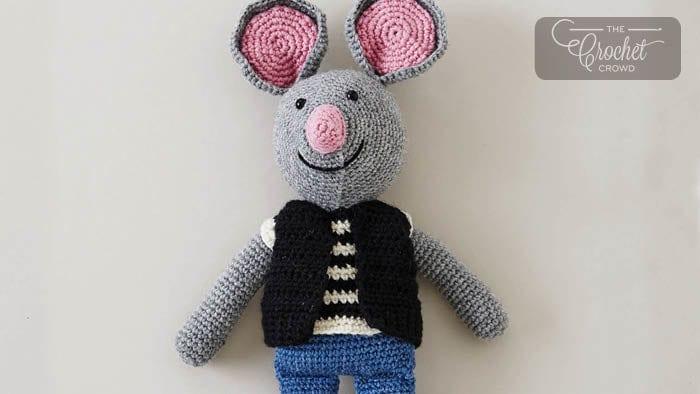 Crochet City Mouse