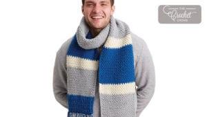 Crochet Classic Scarf