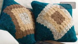 Crochet Double Take Pillow