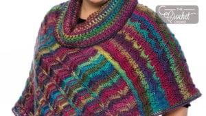 Crochet Dramatic Poncho