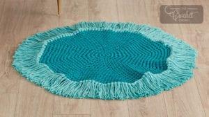 Crochet Fringe Rug