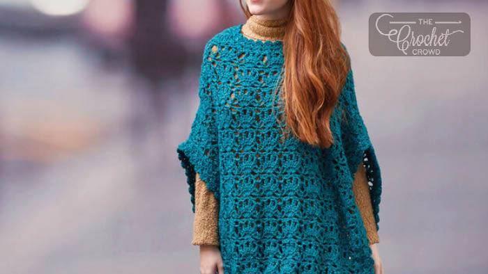 Crochet Let's Party Poncho Pattern