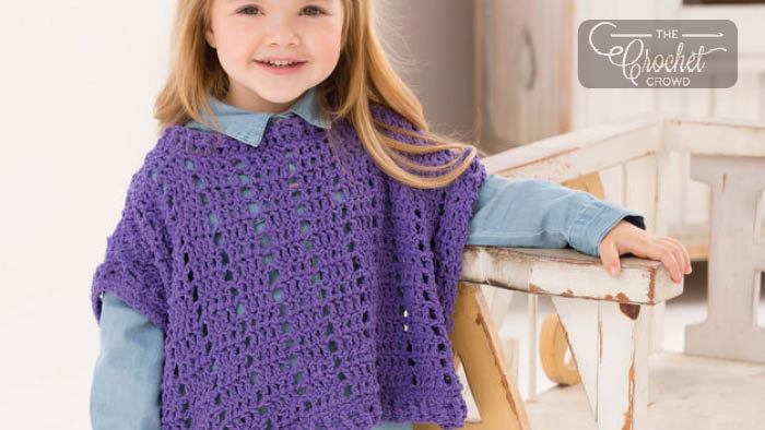 Crochet Little Fashion Poncho
