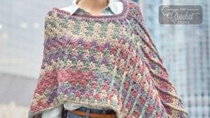 Crochet Mountain Breeze Poncho