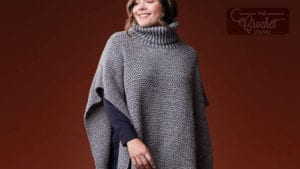Crochet Patons Tweed Poncho