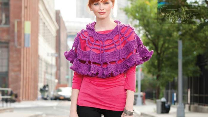 Crochet Petticoat Poncho