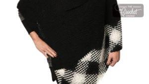 Crochet Pooling Argyle Poncho