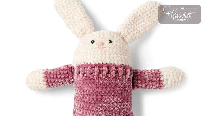 Charity Crochet Square Hare Pattern