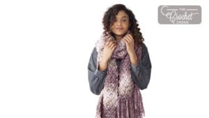 EZ Knit Wool Seed Stitch Scarf