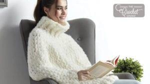 EZ knit Cowl Sweater