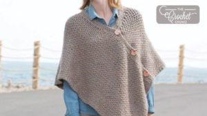Patons Crochet Poncho