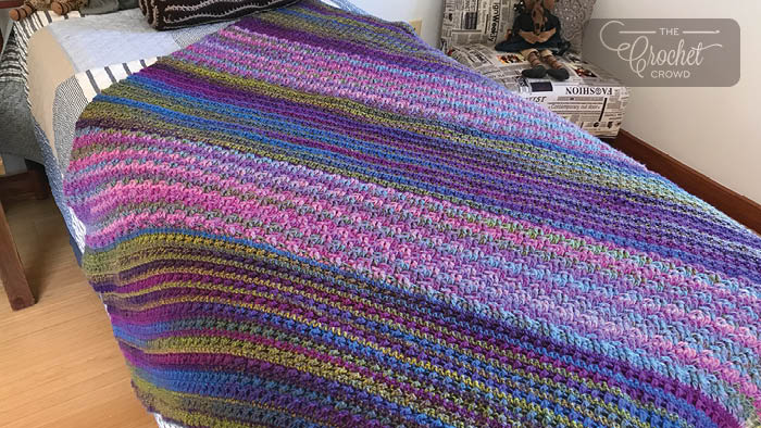 Crochet Study of Transitions Blanket Pattern