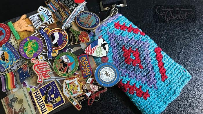 Wayuu Crochet Key Card Holder