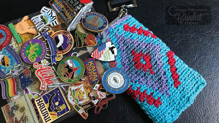 Wayuu Crochet Key Card Holder + Tutorial