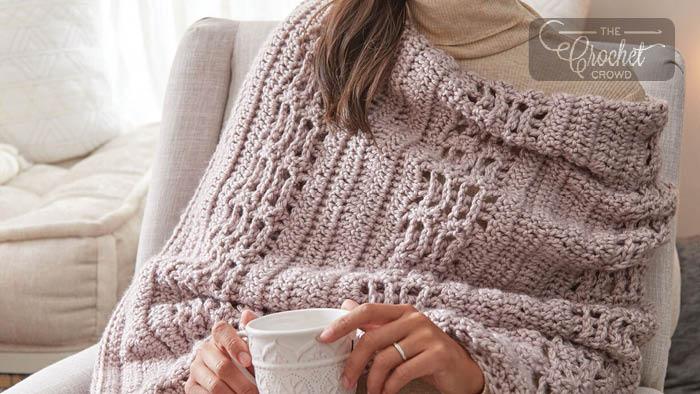 Crochet Cozy Hygge Wrap Pattern