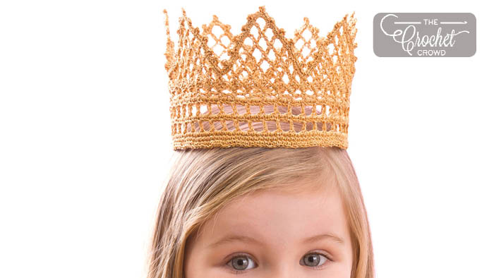 Crochet Child Crown