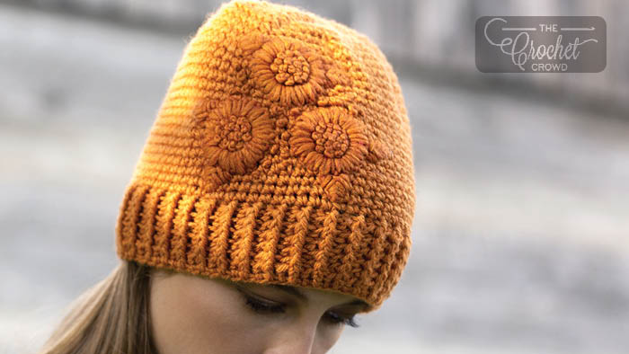 Crochet Floral Chill Hat Pattern
