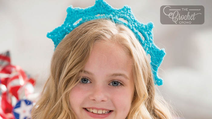 Crochet Statue of Liberty Crown