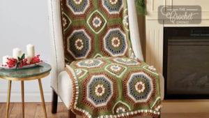 Crochet Woodland Afghan